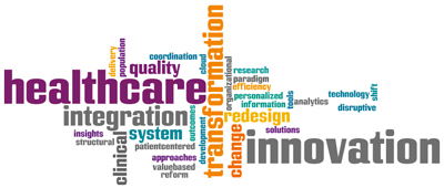 Healthcare Innovation Word Cloud